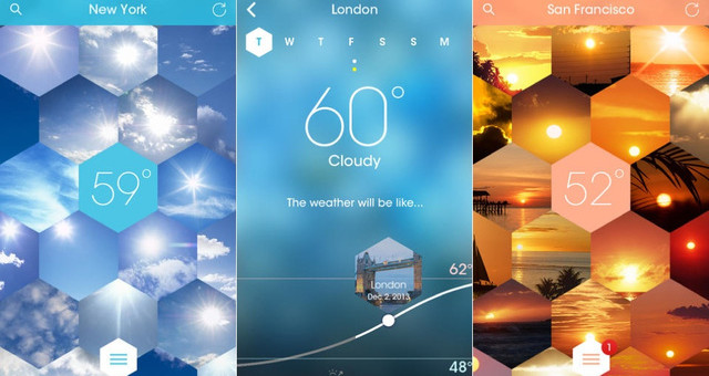 Sunnycomb, a weather app with a difference
