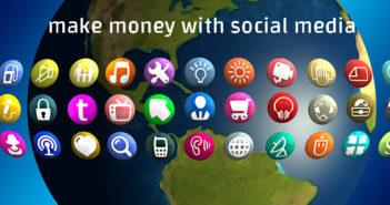 social media make mony